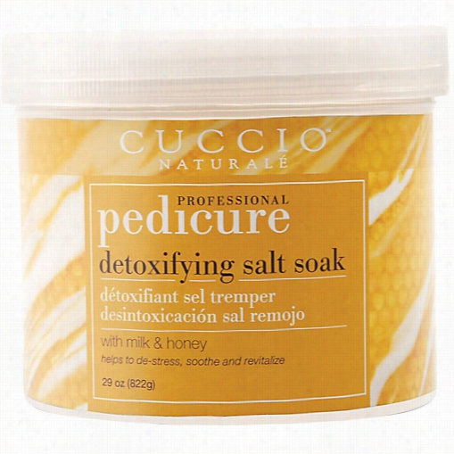 C Uccii Milk & Hone Ypedicure Salt Soak