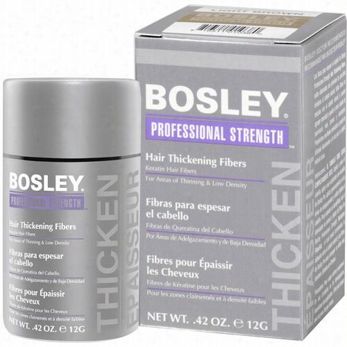 Bosley Professional Hair Thickening Fibers - Light Brown