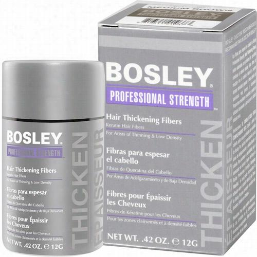 Bosley Professional Hair Thickening Fibers - Medium Brown