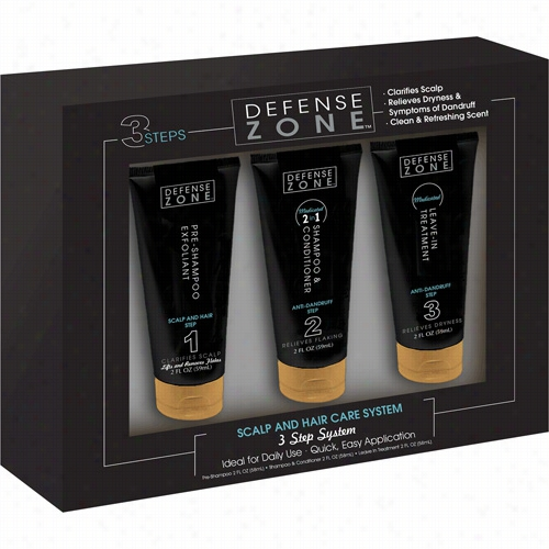 Defense Zone 3 Step System Trial  Kit