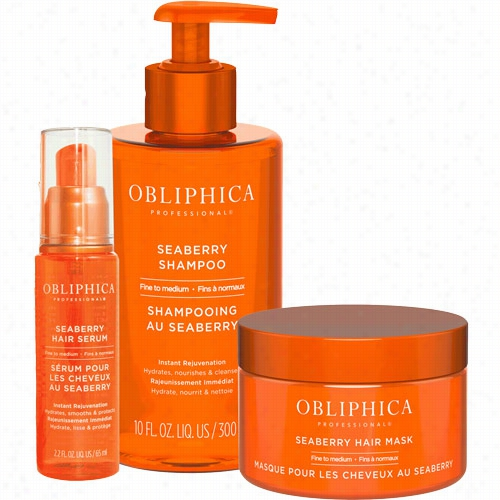 Obliphica Pr Ofessional Trio For Fine To Medium Hair