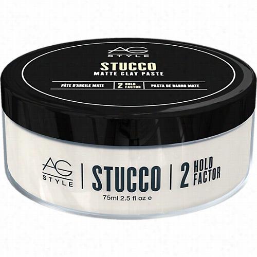 Ag Hair Stucco Matte Clay Paste