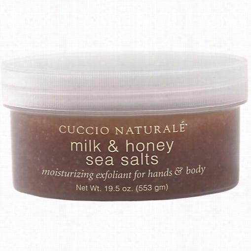 Cuccio Milk & Honey Sea Salts