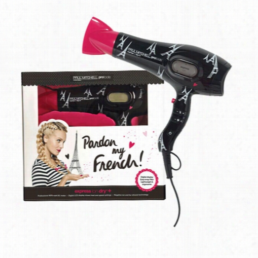 Paul Mitchell Pardon My French Express Ion Dry+