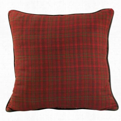 AMS Design NCAA 10 Inch Square Plush Throw Pillow