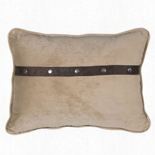 Hiend  Accents Ws4078p3 Tucson Rectangular Pillow In Beige