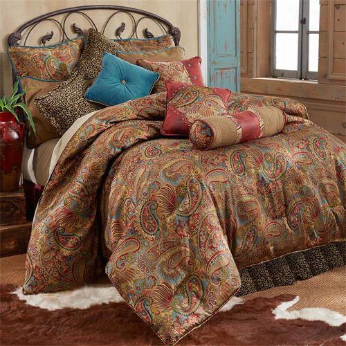 Hiend Accents Ws42887-tw-ct San Angelo Twin 3 Piece Comforter  Seet