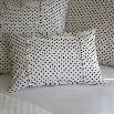 Taylor Linens 1063DOTTIE-BOU Dottie Boudoir Pillow in Black/Cream