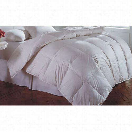 "Downrightc Asc-pk-120-sm -wd Cascada Peak 120"" X 120"" 50oz 600 Fill White Down Comforter"