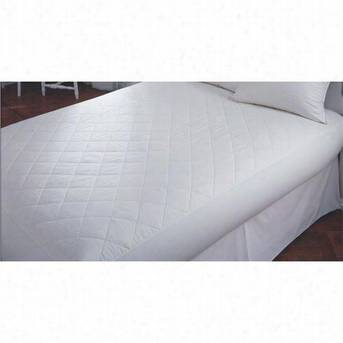 "Downright Mp-4875-cot-14 48"" X 75"" X 14""d Cotton Matrresss Pad In White"