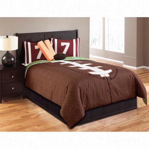 Hallmart Collectibles4 3666  Touchdown Full 6 Pieces Comforte Rste