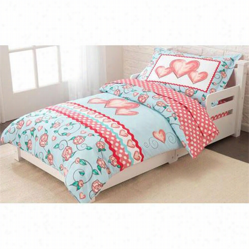 Kidrkagt 77004 Princess Sweetheart Toddler Bedding