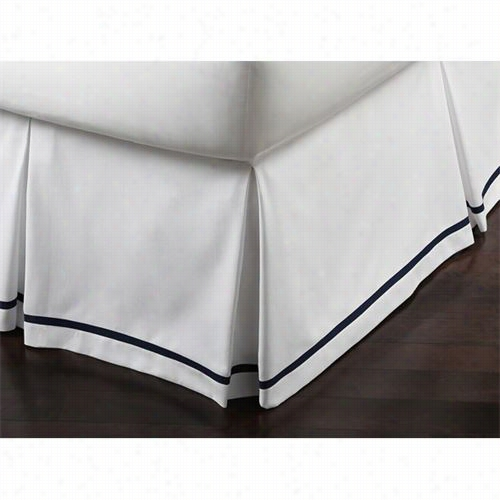 Peacock Alley Piq-5tl Pique Tailored Twin Bedskirt
