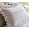 Taylor Linens 103NSWEET-SS Sweet Dreams Standard Sham in Natural