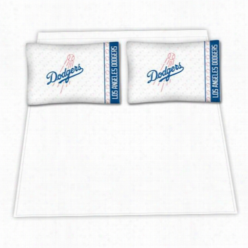 Sports Coverage 03mfshs3dodtwin Mlb Los Angeles Dodgers M Icro Fiber Twin Bed Sheet Set