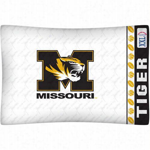Sports Coverage 04mfpcs4mocstan Ncaa Misssourri  Tigers Micro Fiber Pillow  Case