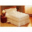 Pacific Coast 55878 Baffle Box King Size Feather Bed in White