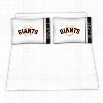 Sports Coverage 03MFSHS3GIATWIN MLB San Francisco Giants Micro Fiber Twin Bed Sheet Set
