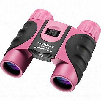Barska 10x52 Waterproof Binoculars, Pink