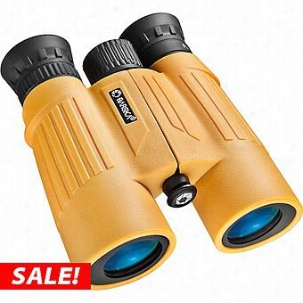 Barska 10x30 Float Mster Wp Floating Binoculars, Yellow