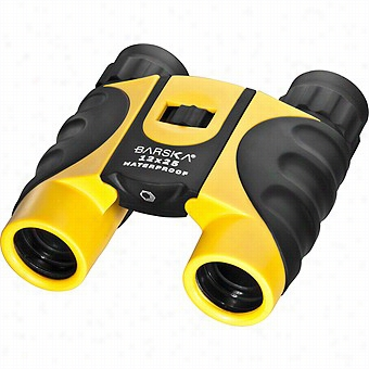 Barska 12x25 Colorado Waterpr0of Binoculars,yellow