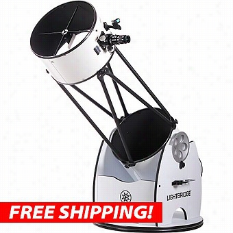 "Meade 16"" Lightbridge Dobsonian Reflector Telescope"