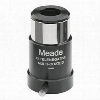 "Meade Esries 4000 1.25"" X3 Short-focus Barlow Lens #218"