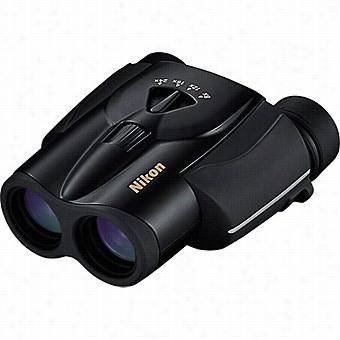 Nikon 8-24x25 Aculon T11 Zoom Binoculars, Black