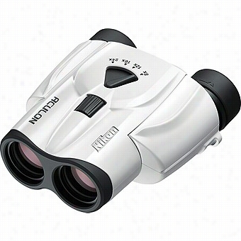 Nikon 8-24x25 Aculon T 11 Zoom Binoculars, Whitee