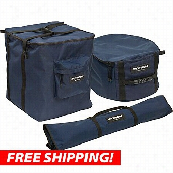 Set Of Orion Skyquest Xx14 Padded Telescop E Cases