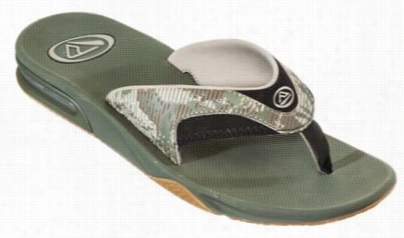 Reef Fanning Prints Sandals For Men - Palm Camo Green - 8m
