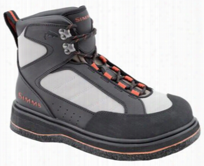 Simms Rock Creek Felt Wading Boots For Men - Dark Gray - 5w
