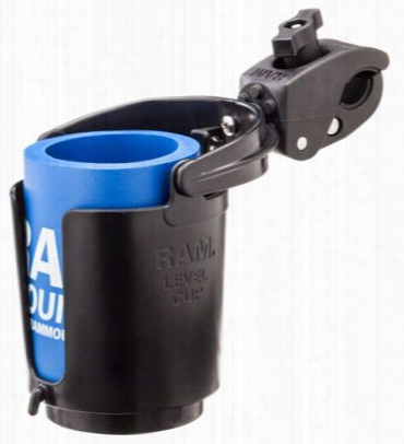 Ram Mounts Self-leveling Cup Holder With Toough Claw Base