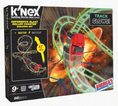 Supernova Blat Roller Coaster Building Set