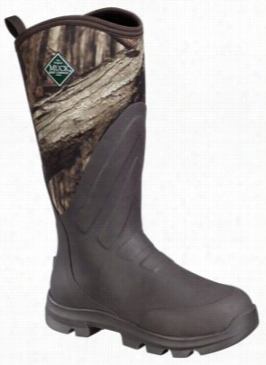 The Original Muck Boot Company Woody Grit All-terrain Hunting Boots For Men  -mossy Oak Break-up Infinity - 10 M