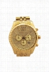 MK8281 Chronograph Lexington Gold-Tone Stainless Steel Bracelet Watch