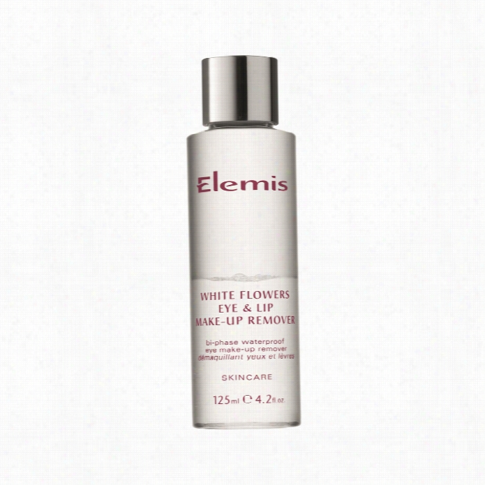 Elemis Pale Flowers Eye & Lip Make Up Remover