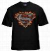 Superman Iron Fire T-Shirt