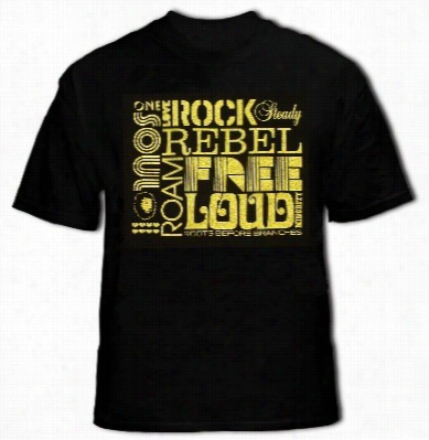 Soul Rebel Roots Before Branches T-shirt (black)
