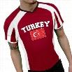 Turkey Vintage Flag International Sport Tee