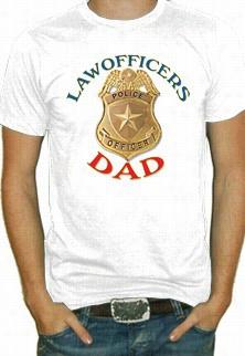 Law Officsrs Dad T-shirt
