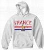 France Vintage Shield International Hoodie