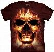 Skullfire Men's Big Face T-shirt