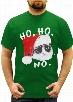 Ho Ho No Angry Cat Men's T- Shirt