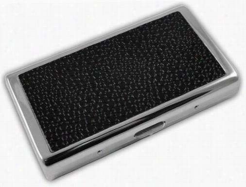 Textured Leatther Cigarette Case (regular S& 100's Cigarettes)
