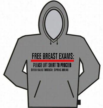 Free Breast Exams Hoodie