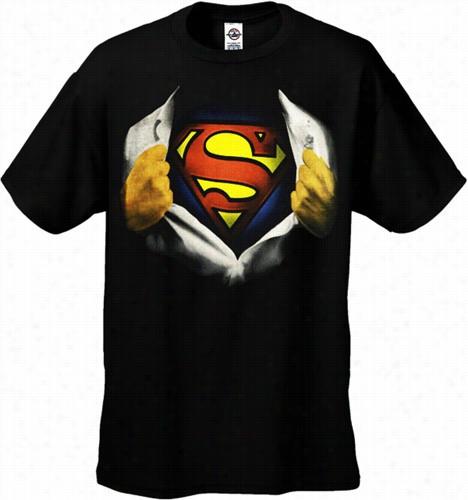 Superma N&ampq Uot; Ripped Shirt&quoot; Men's T-shirt
