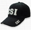 CSI Baseball Hat (Black)