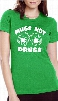 Irish Drinking T-Shirts - Mugs Not Drugs Girl's T-Shirt