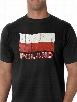 Vintage Poland Waving Flag Men's T-Shirt